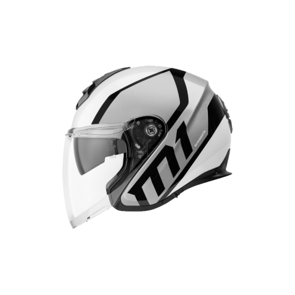 CASCO SCHUBERTH M1 FLUX SILVER-0