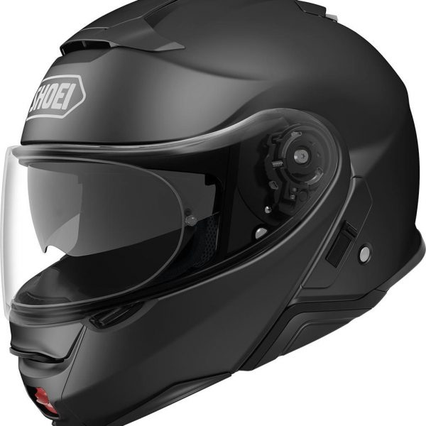 CASCO SHOEI NEOTEC II MATT BLACK-0
