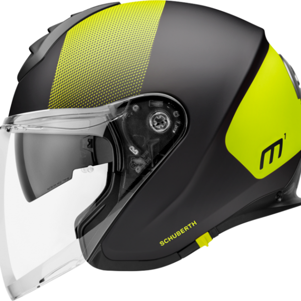 CASCO SCHUBERTH M1 RESONANCE YELLOW-0